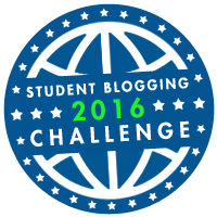 I am in the Student Blog Challenge!